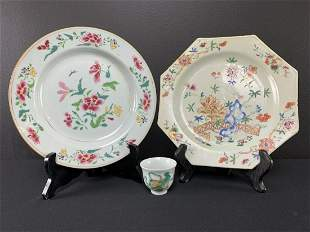 Chinese Hand Painted Porcelain Lot