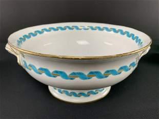 19th C England Minton Porcelain Bowl