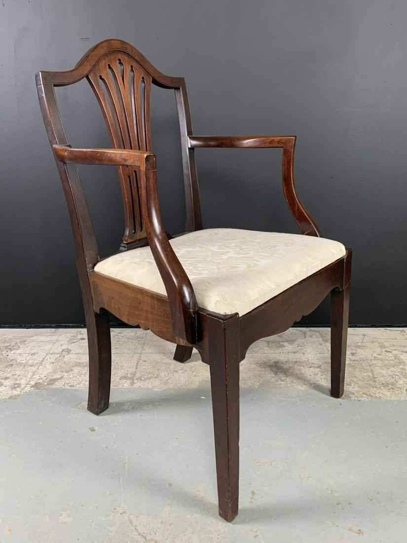 George Iii Hepplewhite Armchair