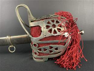 Very Fine 19th C Antique Scottish Infantry Sword