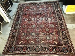 Large Antique Persian Ziegler Mahal Rug