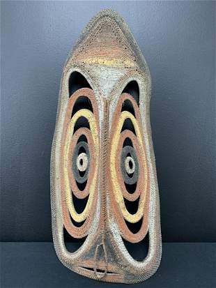 Large Abelam Tribal Yam Mask Papua New Guinea