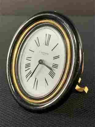 Cartier Baignoire Oval Desk Clock