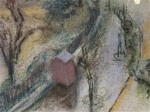 Jean-Edouard Vuillard Pastel Square Vintimille
