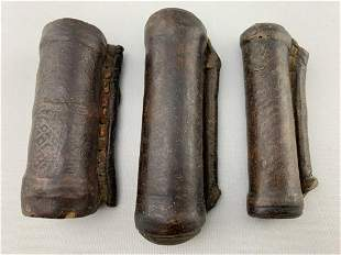 Lot Of 3 Ethiopian Prayer Scrolls