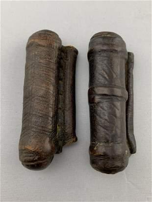 Lot Of 2 Ethiopian Prayer Scrolls