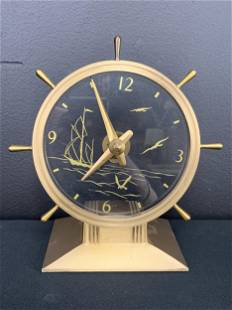 Vintage Haddon The Commodore Electric Shelf Clock