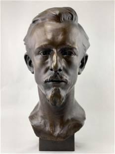 Camille Lefevre (France, 1853-1933) Bronze Bust