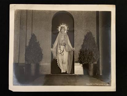 Art Deco Hollywood Silent Film Photo Madge Kennedy
