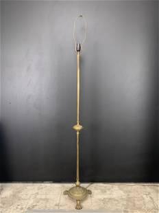 Antique Lions Paw Floor Lamp