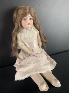 German Kestner Bisque Doll, Sleep Eyes