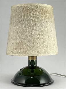 Mid Century Holmegaard Glass Meteor Lamp, Bang