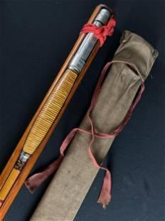 Antique Joseph Boivin Fly Fishing Rod