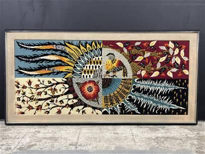 1960s Lurcat Metamorphosis of Nature Tapestry
