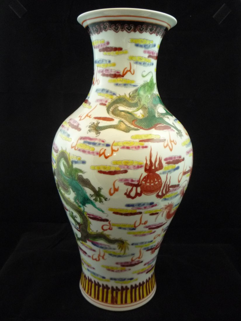 Chinese Dragon Vase