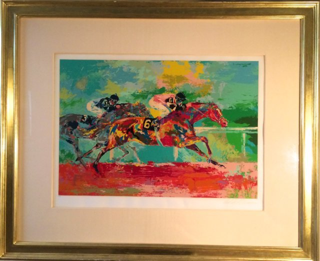 Leroy Neiman, Serigraph,The Race of the Year