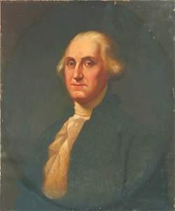 1: Gilbert Stuart American Washington Painting