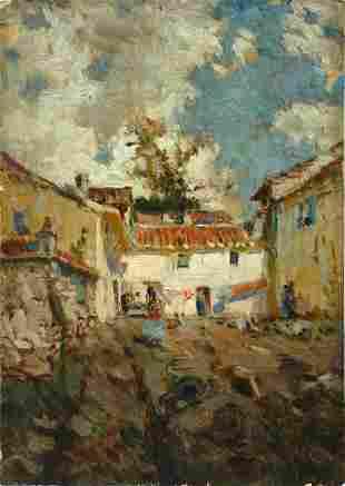 6: Van Gorder American Impressionist Painting