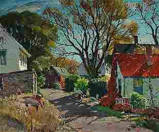 13: Antonio Cirino Painting American Rockport