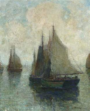 15: Paul King Impressionist Painting American