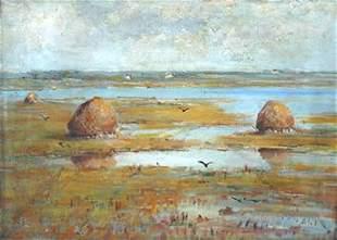 16: Ahl Impressionist Painting American