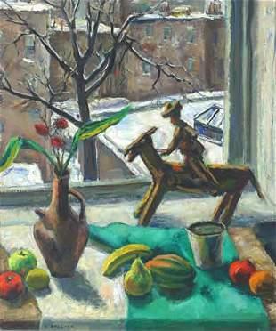 18: Brecher WPA Painting American Modern