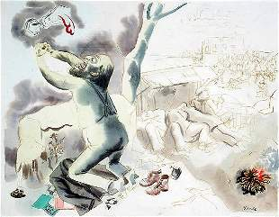 24: Grosz German American Painting Expressionist