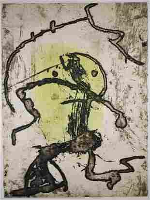 Joan Miro (Spanish 1893 - 1983)
