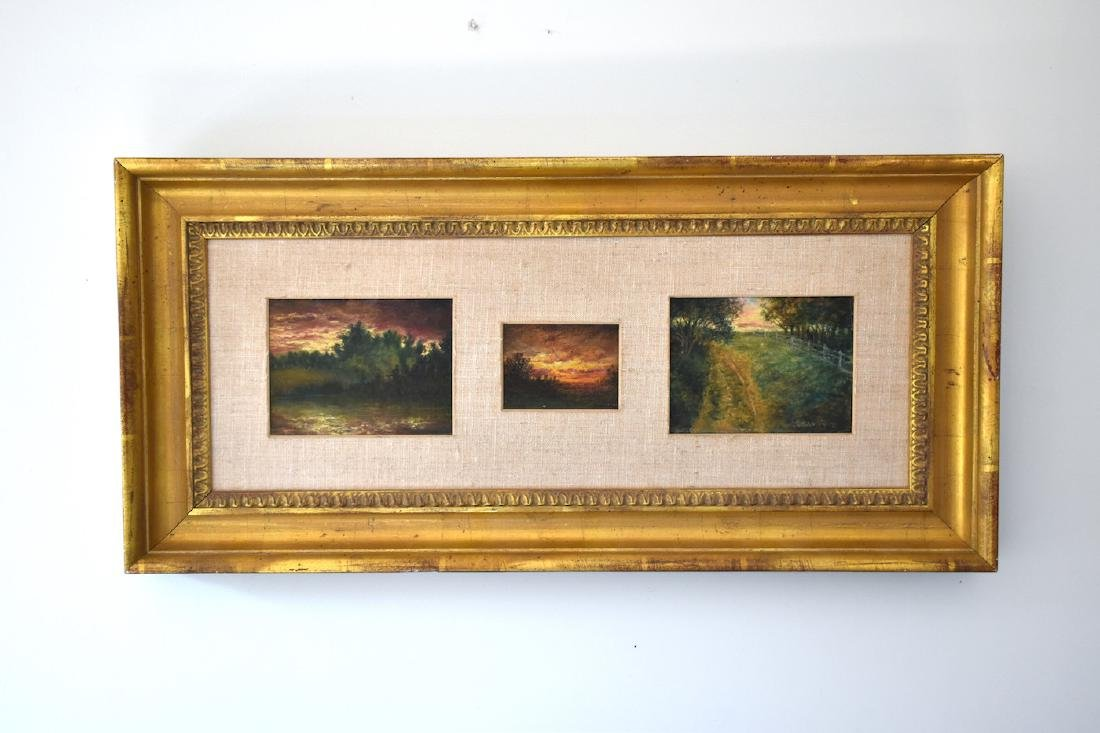 Tonalist landscapes (American 20th Century)
