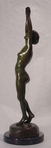 Mathewson Bronze Gorham Nude Sculpture