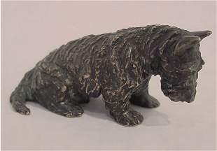 4: Kirmse Bronze American Scotty Dog Terrier