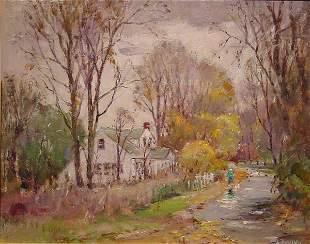 16: Cirino American Painting Lincoln Rhode Island