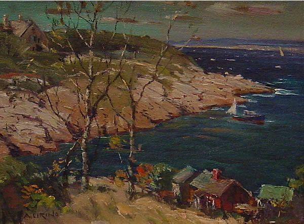 17: Cirino American Painting Rockport Harbor MA