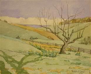 19: American Painting Spring Watercolor