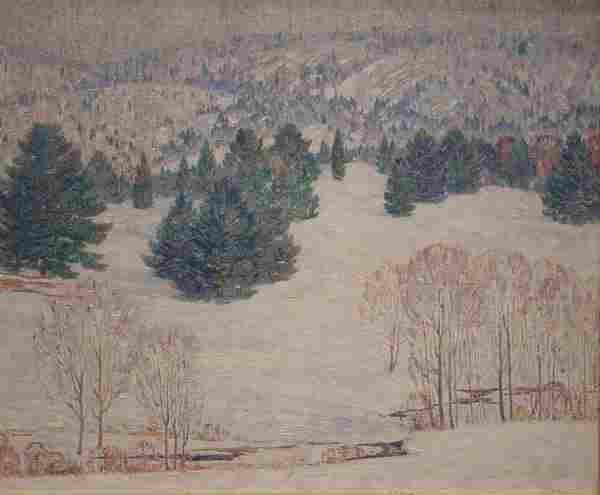 Carlsen American Painting Connecticut Winter