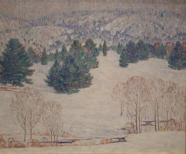 22: Carlsen American Painting Connecticut Winter