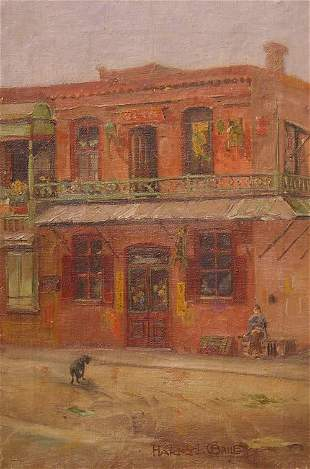 Bailey American Painting California Chinatown
