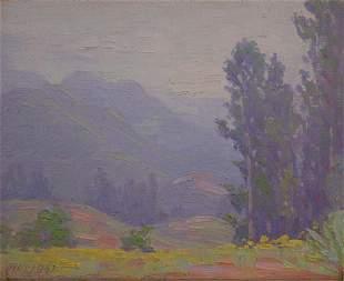 Albright Painting California Sierra Plein-air