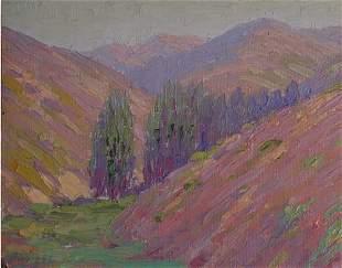 Albright Painting California Santa Ana Plein-air