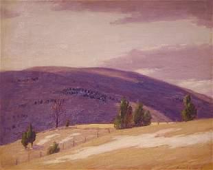 Schwartz American Painting listed Plein Air
