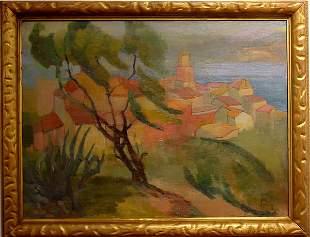 Chanase American Painting Mediterranean