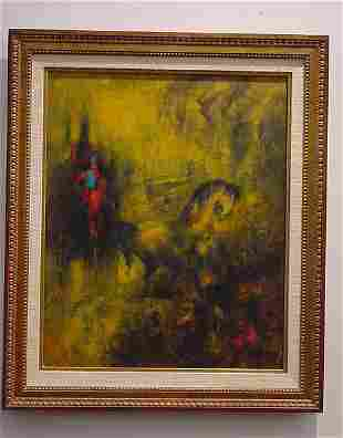 Lebadang Painting French Mid-century modern