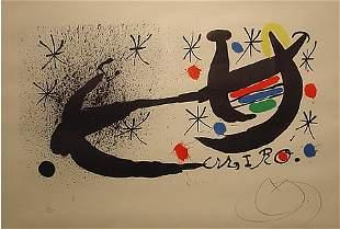 Miro Spanish Lithograph Modern Signed