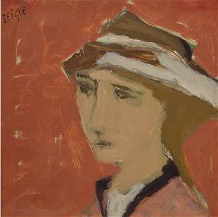 Seigle French Painting Portrait Modern