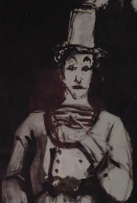 Blatas American Marcel Marceau Autograph