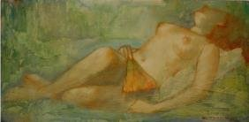Butterfield American Painting Nude
