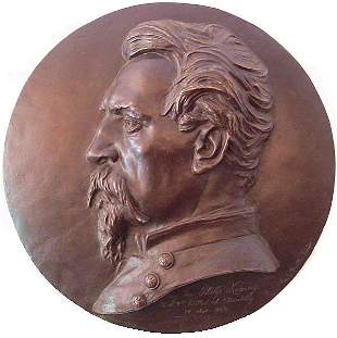 1:George Bissell Bronze Civil War Major General Kearny