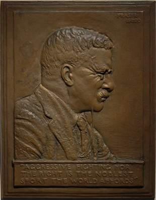 2: James Earle Fraser Bronze Roosevelt  American