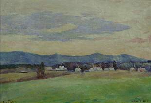 9: Foster American Impressionism Oil Salmagundi Signed