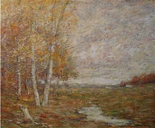 12: Murphy American Tonalist Painting Salmagundi